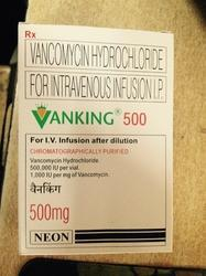 Vanking (Vancomycin)  500 mg Injection