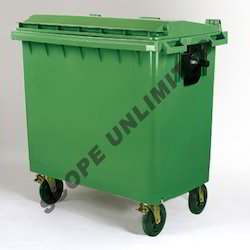 Four Wheeled Dustbin 660L