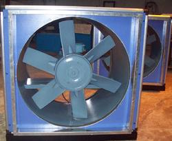 In Line Axial Flow Fan