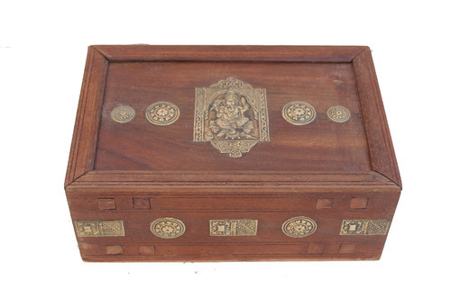 Wooden Puzzle Gift Box Bamboo And Wooden Handicrafts Rare Art
