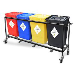 Bio Medical Waste Segregation Trolley