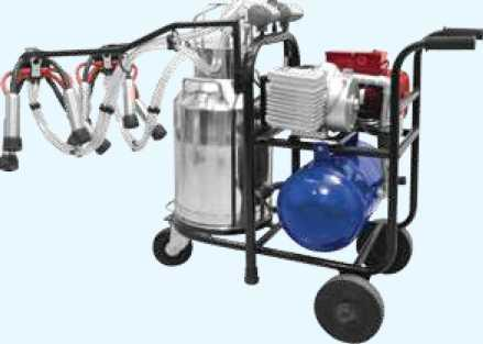 Double Cluster Milking Machine