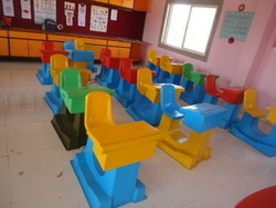 PRE SCHOOL BENCHES