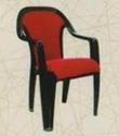 Supreme Plastic Chairs With Cushion And Locker Painting