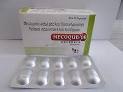 Methylcobalamin 1500mcg Alpha Lipoic Acid 100mg Pyridoxine HCL 3mg Folic Acid 1.5mg Thiamin