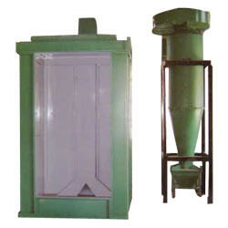 Powder Spray Booth with Recovery