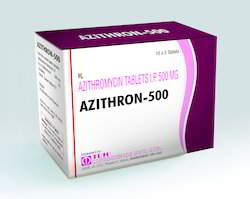 Azithron 500 Azithromycin 500 Mg Tablet