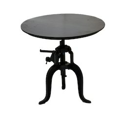 Round Metal Dining Table Small