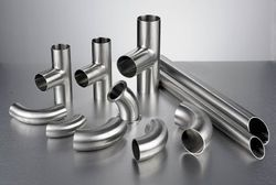 Ss Polished Stainless Steel Tube Fitting, For Structure Pipe