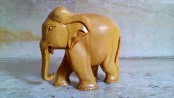 Plain Pattern Sandalwood Elephants