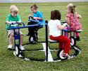 Cycle Merry Go Round Playground Equipment