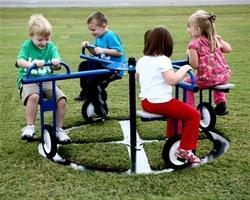 Cycle Merry Go Round Playground Equipment