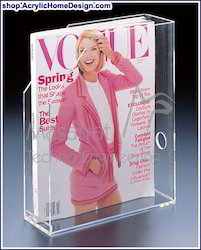 Acrylic - Magazine Holder