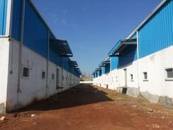 Steel Prefabricated Factory Building