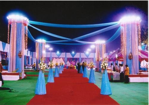 Pandal decoration in new delhi cr park by new utsav caterers pandal decoration altavistaventures Images