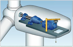 Composite Windmill Nacelle Covers 3D Designing
