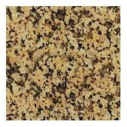 Flamed Block Crystal Yellow Granite, for Flooring, Thickness: 15-20 mm
