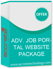 Advance Job Portal Website