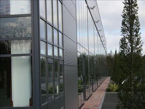 Curtain Wall Glazing Installation & Spider Glass Facade