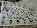 Marble Temple Jali With Mother Of Pearl Inlay Work