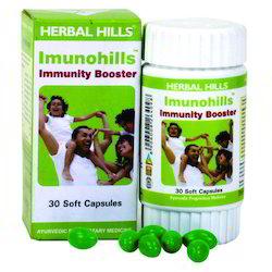Herbal Immunity Supplement -Imunohills - 30 Soft Capsules