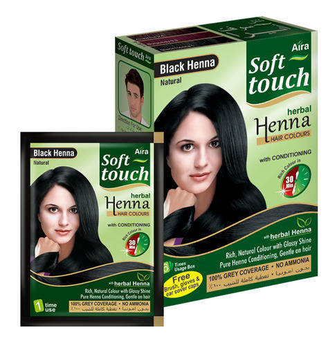 Black Henna Hair Dye, Pack Size: 10 Gm, Agarwal Herbal ...