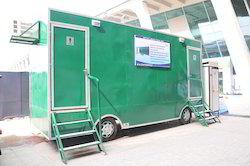 VIP AC Vanity Mobile Toilet Vans