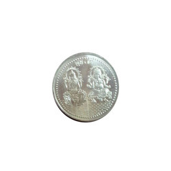 Silver Gold Plated Coin