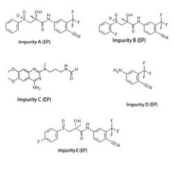 Bicalutamide Impurity A, B, C, D & E