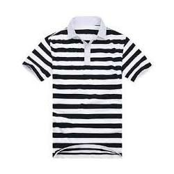 aff43887ba Men's Striped Polo T-Shirt at Rs 170 /pieces | Gents Polo T Shirt ...