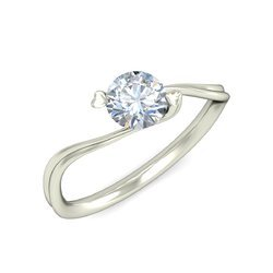 Diamonds Solitaire Ring