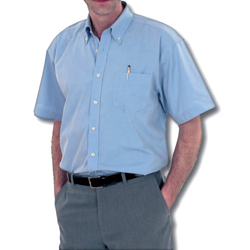550268ad5cb Sky Blue Cotton Gents Half Sleeve Shirt