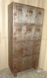 Vintage Industrial Locker Almirah