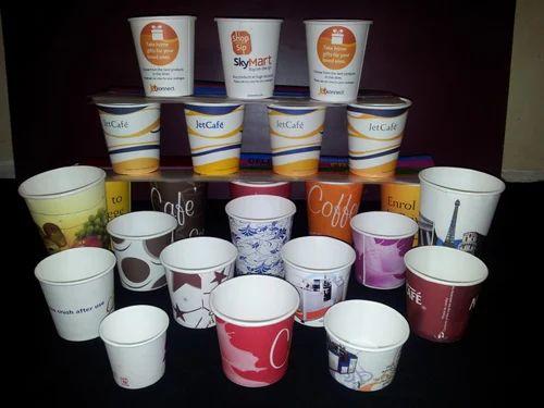 Printed Paper Cups - Printed Design Paper Cup Manufacturer
