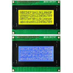 16x4 Character LCD Display (JHD)