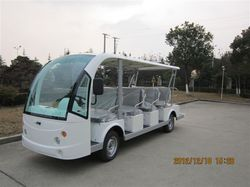 28 Km/H Electric Utility Car/ Bus, Seating Capacity: Fourteen Passengers
