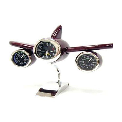 Desk Airplane Clock