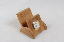 Pine Wood Mobile Cum Watch Holder