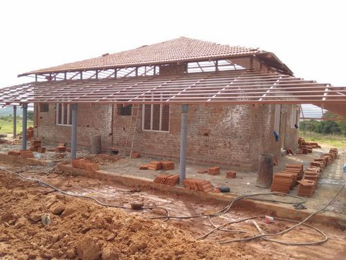 Farm House Farm House Steel Structure With Tiled Roof