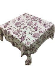 Kantha Cotton Lotus Design Table Cover