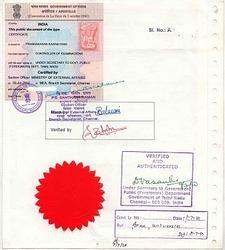 Attestation and Apostille Services