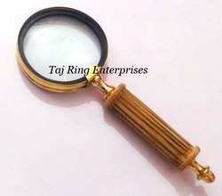 Brass Handle Magnifying Glass