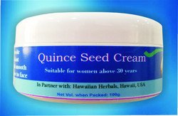 Quince Seed Cream