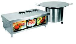 Cookman Stainless Steel Aloo Tikki Counter, For Hotel, restaurant