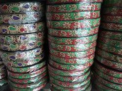 Embroidered Zari Tape