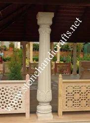 Sand Stone Columns