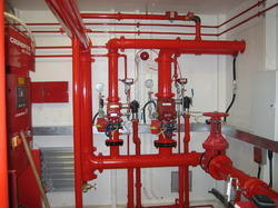 Industrial Fire Protection System