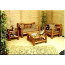 Outstanding Natural Standard Furniture Bamboo Cane Rs 35000 Set Andrewgaddart Wooden Chair Designs For Living Room Andrewgaddartcom