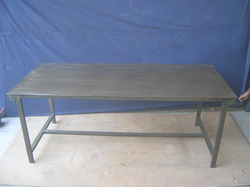 Iron Folding Dining Table