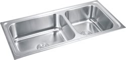 Double Bowl Stainless Steel Modular Kitchen Sink